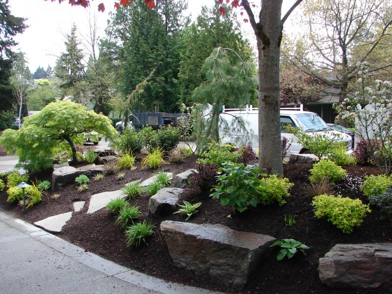 Berm Landscaping Ideas Front Yards